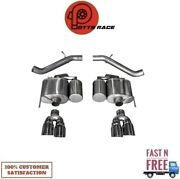 Corsa 14478 304 Ss Axle-back Exhaust System Quad Rear For 16-19 Cadillac Ats