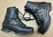 Grade 1 Meindl German Army Sf Issue Black Leather Goretex Combat Boots