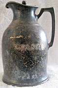 Antique Stanley Insulating Co. Thermos Pitcher The Pioneer Great Barrington