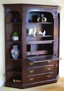 Ethan Allen Georgian Court Wall Unit 3 Pieces Solid Wood Great Condition