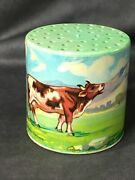 Vintage Toy Moo Cow Noisemaker - Western Germany - Works - Amazing Condition