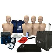 Series 2000 Cpr Manikin 4-pack W. Adv. Feedback Aed Ultratrainers Carryall-l