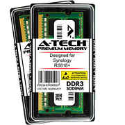 A-tech 16gb 2x 8gb Ddr3 1600 Mhz So-dimm For Synology Rs818+ Nas Memory Ram
