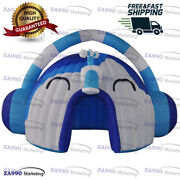 16x13ft Inflatable Headset Dome Tent Promotion Advertising With Air Blower