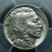 1924 5c Buffalo Nickel Five Cents Certified Pcgs Ms64 Us Mint Coin