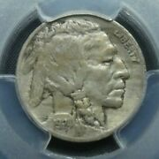 1924 D 5c Buffalo Nickel Five Cents Certified Pcgs Xf45 Us Mint Coin