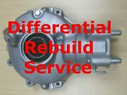 Honda Trx 400 And 420 Fourtrax Rear End Differential Final Drive Rebuild Service