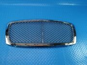 Bentley Continental Gtc Gt Main Radiator Grille Chrome 3 Pieces 9775