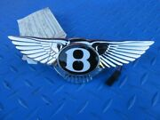 Bentley Continental Supersports Trunk Switch Emblem Badge New 1609