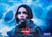 Star Wars Rogue One D Rare 10x13 Ft Giant Billboard Original Movie Poster 2016