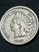 1859 Indian Head Cent First Year Minted Worthwhile Specimen Pls C Pics