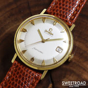 Omega Seamaster Ref.14770-4sc Vintage Cal.562 Automatic Mens Watch Auth Works