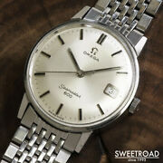 Omega Ref.136.011 Vintage Seamaster 600 Manual Winding Mens Watch Auth Works