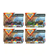 Monster Jam Color-change Dirty To Clean 164 2 Pack Trucks - Choose From List
