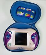 Leapfrog Leapster 2 Explorer Purple Ultimate Learning Game System W/ 5 Games