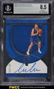 2018 Crown Royale Silhouettes Luka Doncic Rookie Patch Auto /199 Bgs 8.5 Nm-mt+