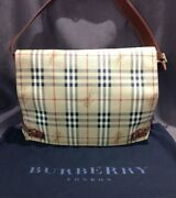 Authentic Pvc And Leather Trim Messenger Bag Large