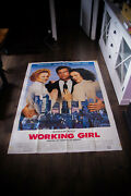 Working Girl Harrison Ford 4x6 Ft French Grande Movie Poster Original 1988