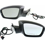 For Volkswagen Passat Mirror 2012 Lh And Rh Pair Manual Folding Heated Vw1320155
