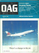 Oag Official Airline Guide Worldwide Timetable 1/96 [1043]