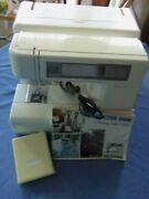 New Home Memory Craft 8000 Computerized Sewing Machine With Extras As Is Repair