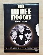 New The Three Stooges The Complete Dvd Collection 1934-1959 8 Volume Set