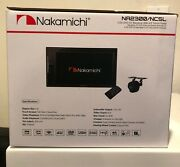 Nakamichi 6.2 Ddin Receiver With Bluetooth Camera And Dvd Package Na2300/nc5l