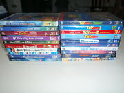 Disney Pixar More Lot Of 20 Dvd's Toy Story Walle Aladdin Monster Inc. More