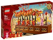 Lego 80102 Chinese New Year Dragon Dance 2019 New And Factory Sealed