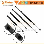 For 2005-2007 Buick Lacrosse 4x Hood+trunk Lift Supports Gas Springs Struts Prop
