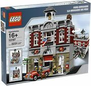 Lego Creator Fire Brigade 10197 New And Factory Sealed