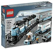 Lego Creator Maersk Train 10219 New And Factory Sealed