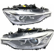 For Bmw 320i/328i/335i Headlight 2012-2015 Lh And Rh Pair/set Hid Bm2502181