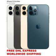 Apple Iphone 2020 Pro Max 128/256/512gb 4 Colors Unlocked A2412 Real Dual Sim