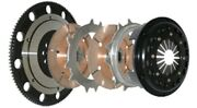 Competition Clutch Twin Disc W/ Flywheel For 1991-1998 Nissan 240sx 2.4l