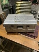 Vintage Metal First Aid Box Military Collectible Army