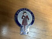 The Beefeater Club Car Badge