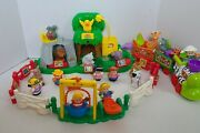 Fisher Price Animal Sounds Zoo And Musical Zoo Train 2001 28pc Lot. Take A Look