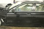 Bmw 528i Lh Left Driver Side Front Door Electric Painted Black Saphire