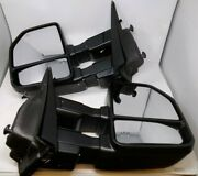 Ford F150 2015-2020 Towing Mirrors Power Heated Smoked Led Signal Puddle Lights