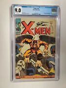X-men 19 Cgc 9.0 1st Appearance The Mimic White Pages 1966 Jack Kirby Cover