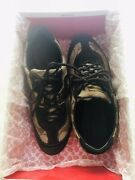 Coach Lexey Womenandrsquos Sneakers Suede Canvas Size 7.5 Tennis Shoes Brown Signature