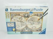 New In Box Ravensburger Premium Touch Of Gold 1200 Piece Puzzle Globe Earth
