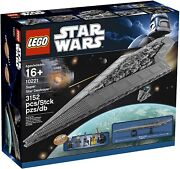 Lego Star Wars Super Star Destroyer 10221 New And Factory Sealed