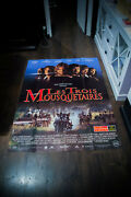 The Three Musketeers 4x6 Ft French Grande Movie Poster Original 1993