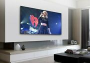 Xyscreen Black Crystal Laser Projector Screen Alr Home Theater 4k 120