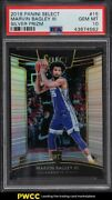 2018 Select Silver Prizms Marvin Bagley Iii Rookie Rc 15 Psa 10 Gem Mint