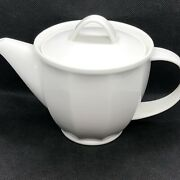 Villeroy And Boch Geo White 0158 Mini Teapot 3.75 16 Oz Germany Discontinued
