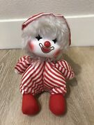 Vintage Faratak 1980's Wind Up Musical Clown Plays Its A Small World Moving Head