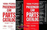 Ford 1996 Parts Manual Part Catalog Book Service Repair Replacement